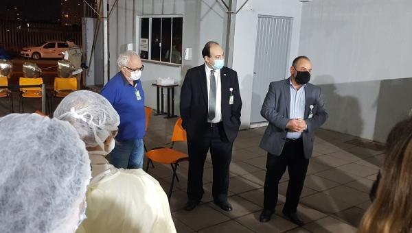Central de Triagem Covid-19 do Grupo Hospitalar Conceição é desativada em função da baixa procura_