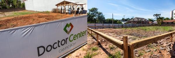 Doctor Clin dá andamento às obras em Campo Bom e prevê inauguração de complexo em outubro_