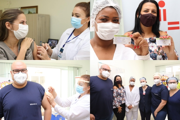 Hospital São Vicente de Paulo vacina