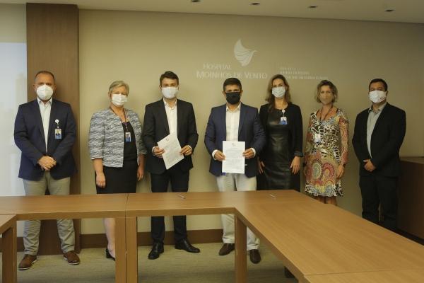 Hospital Moinhos de Vento ´passará a atender usuários do IPE Saúde no HUB de Canoas_