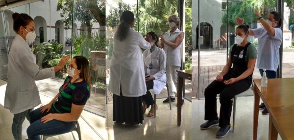 Santa Casa de Porto Alegre passa a oferecer sessões de reiki para os seus colaboradores_