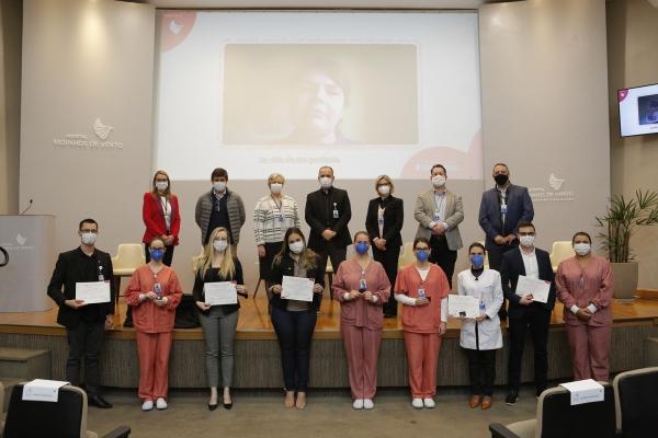 Hospital Moinhos de Vento entrega Prêmio Dania em oito categorias da Enfermagem-