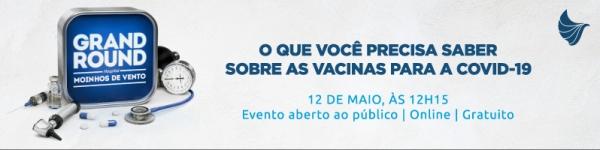 Hospital Moinhos de Vento realiza evento on-line e gratuito para esclarecer dúvidas sobre as vacinas contra Covid-