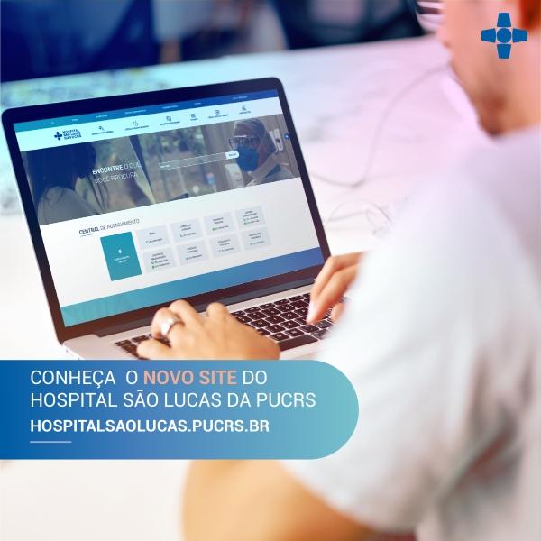 Hospital São Lucas da PUCRS lança novo site com navegação intuitiva e com foco na acessibilidade-