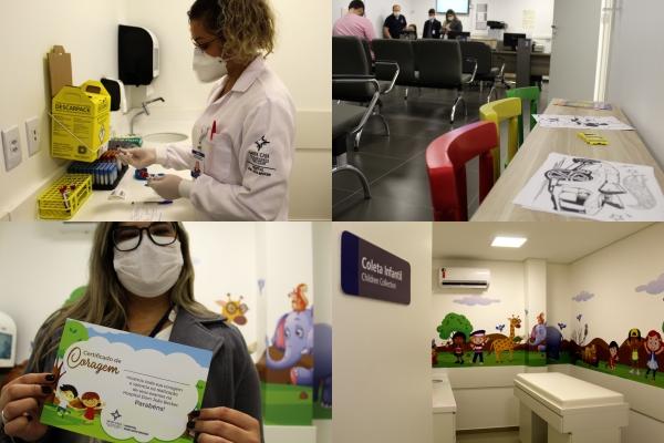 Hospital Dom João Becker inaugura nova estrutura de análises clínicas-