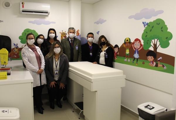 Hospital Dom João Becker inaugura nova estrutura de análises clínicas--