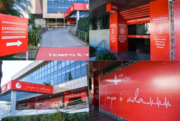Hospital Mãe de Deus lança Emergência Cardioneurológica-