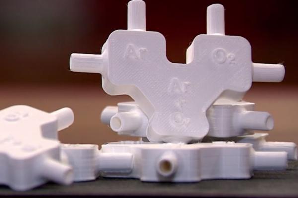 protótipos conectores para cateteres de alto fluxo