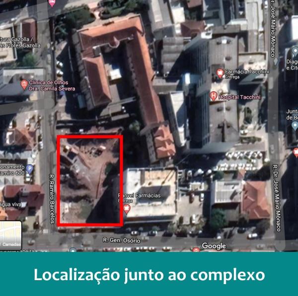Hospital Tacchimed localizacao