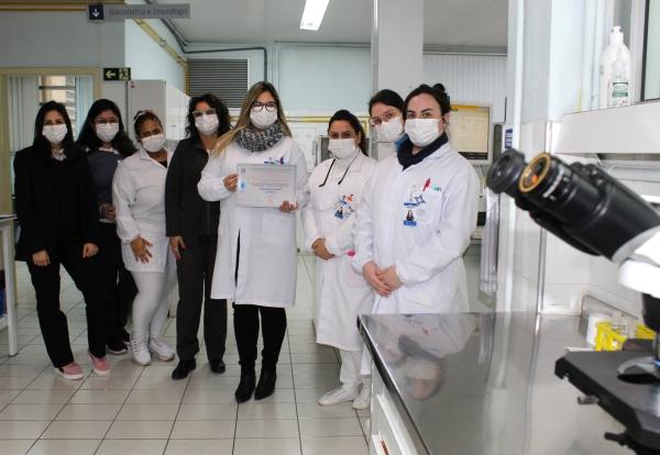Laboratório do Hospital Dom João Becker conquista o Padrão Diamantede qualidade pela PNCQ-