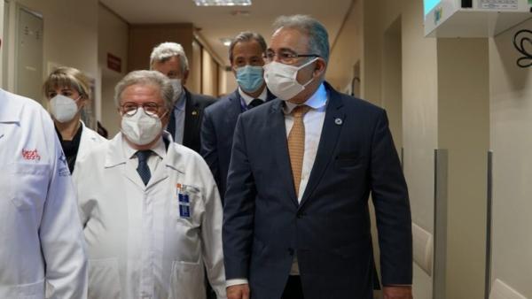 Santa Casa de Porto Alegre apresenta projetos a ministro da Saúde-