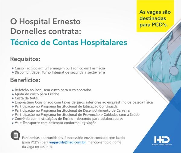 Tecnico de Contas Hospitalares