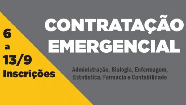 edital ses rs contratacao emergencial